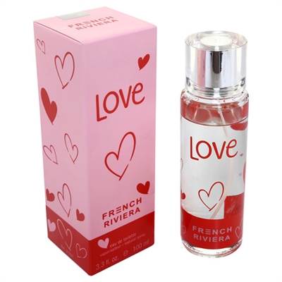 French Riviera Love by Carlo Corinto for Women 3.4oz Eau De Toilette Spray