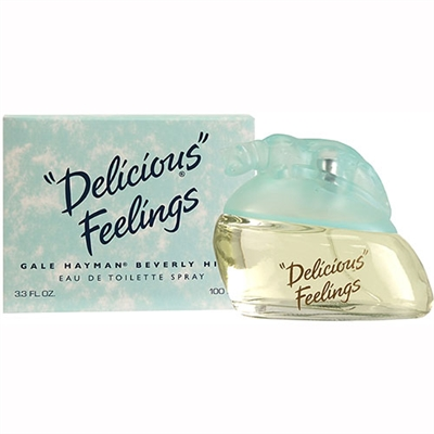 Delicious Feelings by Gale Hayman for Women 3.3oz Eau De Toilette Spray