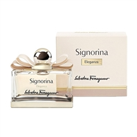 Signorina Eleganza by Salvatore Ferragamo for Women 3.4oz Eau De Parfum Spray