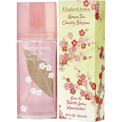 Green Tea Cherry Blossom by Elizabeth Arden for Women 3.3oz Eau De Toilette Spray