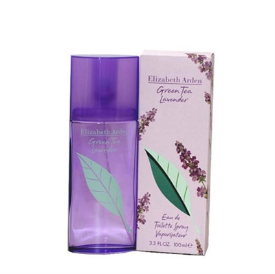 Green Tea Lavender by Elizabeth Arden for Women 3.3oz Eau De Toilette Spray