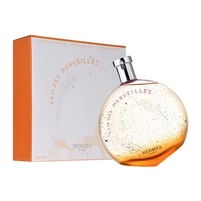 Eau des Merveilles by Hermes for Women 3.3oz Eau De Toilette Spray