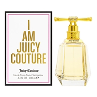 I Am Juicy by Juicy Couture for Women 3.4oz Eau De Parfum Spray