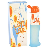 I Love Love Cheap & Chic by Moschino for Women 1.7oz Eau De Toilette Spray