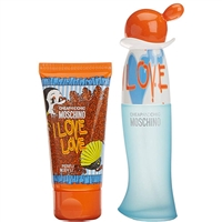 I Love Love by Moschino for Women 2 Piece Set