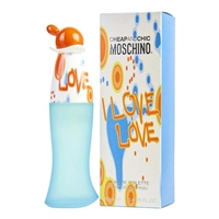 I Love Love Cheap & Chic by Moschino for Women 3.4 oz Eau De Toilette Spray