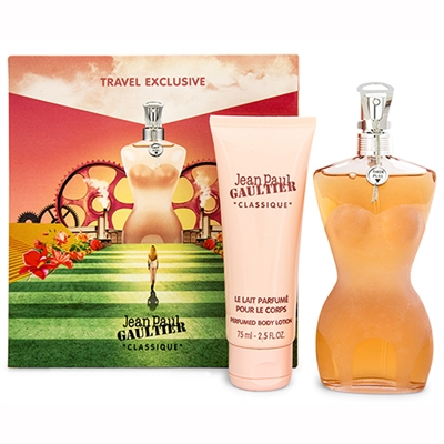 Classique by Jean Paul Gaultier for Women 2 Pieces Gift Set