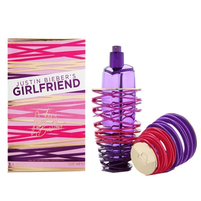 Girlfriend by Justin Bieber for Women 3.4oz Eau De Parfum Spray
