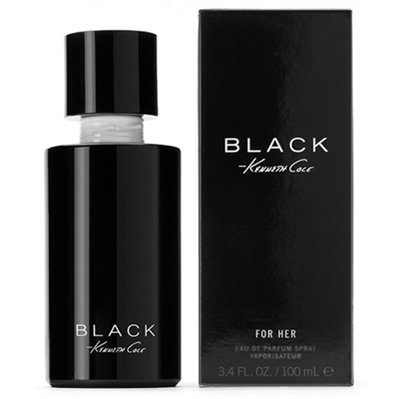 Black for Her by Kenneth Cole for Women 3.4z Eau De Parfum Spray