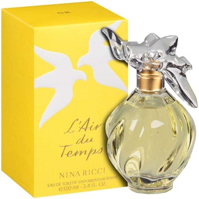 Lair Du Temps by Nina Ricci for Women 3.3 oz Eau De Toilette Spray