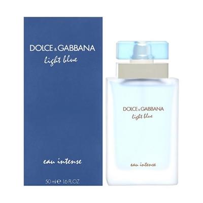 a0c2f4f52e55 Light Blue Eau Intense by Dolce   Gabbana for Women 1.6oz Eau De Parfum  Spray