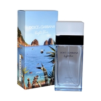 Light Blue Love In Capri by Dolce & Gabbana for Women 1.6oz Eau De Toilette Spray