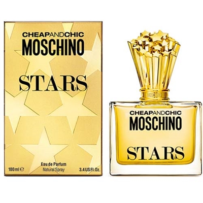 Cheap And Chic Stars by Moschino for Women 3.4oz Eau De Parfum Spray