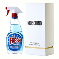 Fresh Couture by Moschino for Women 3.4oz Eau De Toilette Spray