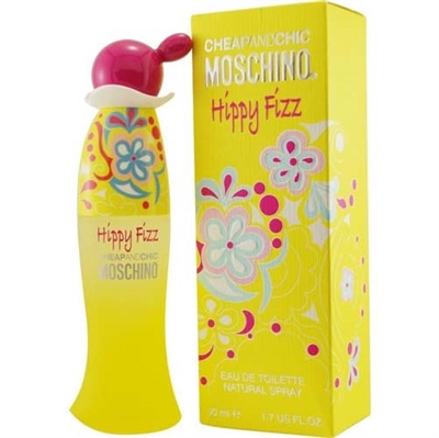 Hippy Fizz by Moschino for Women 1.7oz Eau De Toilette Spray