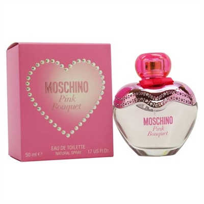 Pink Bouquet by Moschino for Women 1.7oz Eau De Toilette Spray