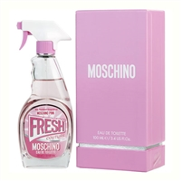 Pink Fresh Couture by Moschino for Women 3.4oz Eau De Toilette Spray