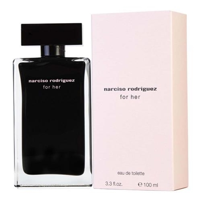 Narciso Rodriguez for Her by Narciso Rodriguez for Women 3.3 oz Eau De Toilette Spray