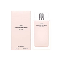 Narciso Rodriguez L'eau for Her by Narciso Rodriguez for Women 3.3oz Eau De Toilette Spray