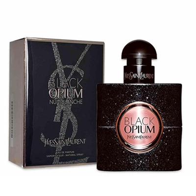Black Opium Nuit Blanche by Yves Saint Laurent for Women 3.0oz Eau De Parfum Spray