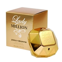Lady Million by Paco Rabanne for Women 2.7 oz Eau De Parfum Spray