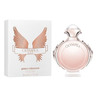 Olympea Aqua by Paco Rabanne for Women 2.7oz Eau De Toilette Spray