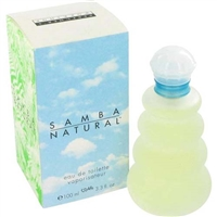 Samba Natural by Perfumers Workshop for Women 3.4 oz Eau De Toilette Spray