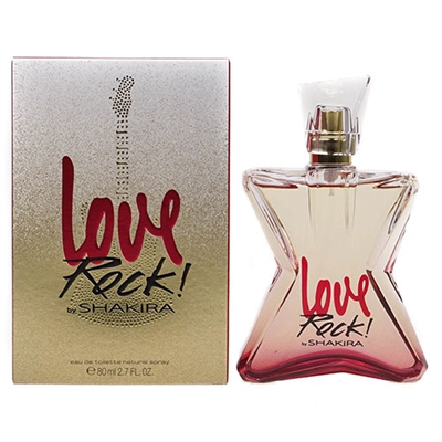 Love Rock by Shakira for Women 2.7oz Eau De Toilette Spray