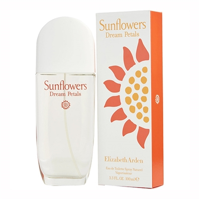 Sunflowers Dream Petals by Elizabeth Arden for Women 3.3oz Eau De Toilette Spray