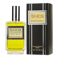 Tea Rose by Perfumers Workshop for Women 4.0 oz Eau De Toilette Spray