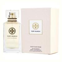 Jolie Fleur Rose by Tory Burch for Women 3.4oz Eau De Parfum Spray