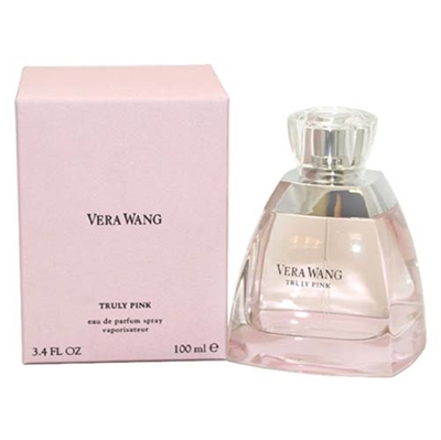 Truly Pink by Vera Wang for Women 3.4 oz Eau De Parfum Spray