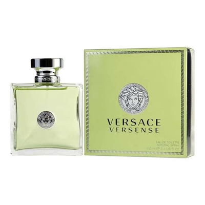 Versense by Gianni Versace for Women 3.4 oz Eau De Toilette Spray
